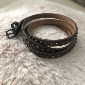 Jewelry - new // Studded Wrap Bracelet